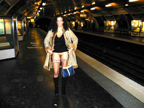 Pic #3 - Fp Mlle A In The Train And The Subway