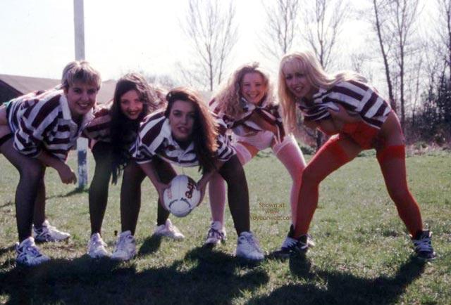 Pic #1 - Womens Rugby Team Calendar Shoot