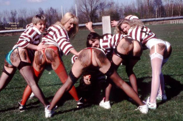 Pic #2 - Womens Rugby Team Calendar Shoot