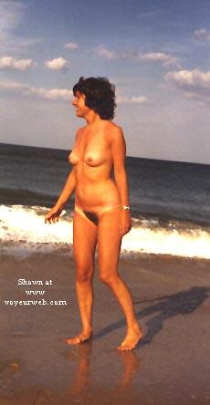 Pic #2 - Barb on Fla Beach Again