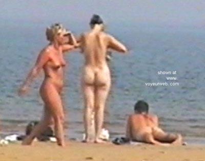 Pic #1 - Blonde on English Beach
