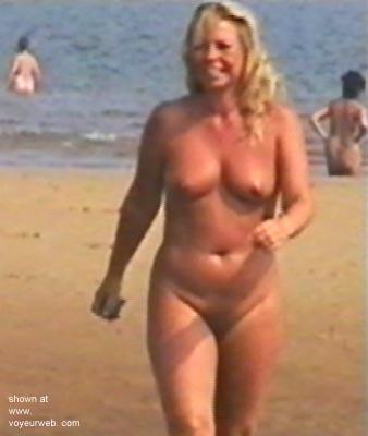 Pic #5 - Blonde on English Beach
