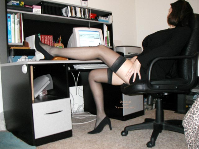 Pic #2 - *Sy Alexis Hard At Work!
