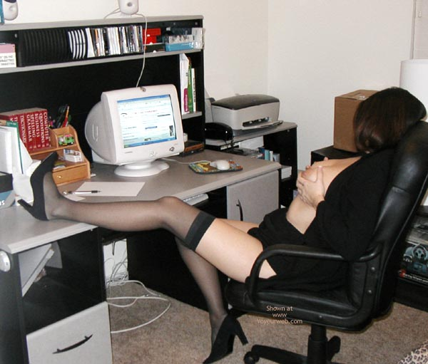 Pic #3 - *Sy Alexis Hard At Work!