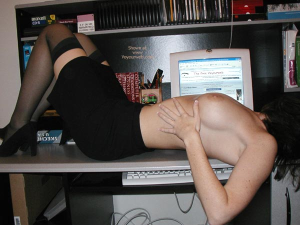 Pic #6 - *Sy Alexis Hard At Work!