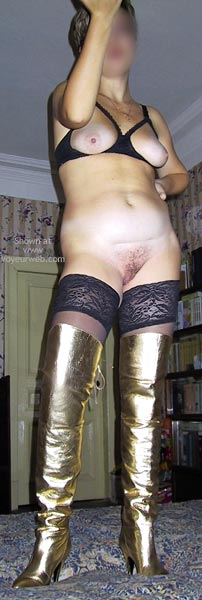 Pic #8 - Do You Like My Boots?