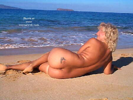 Pic #3 - Ellen At The Beach - Pt 2