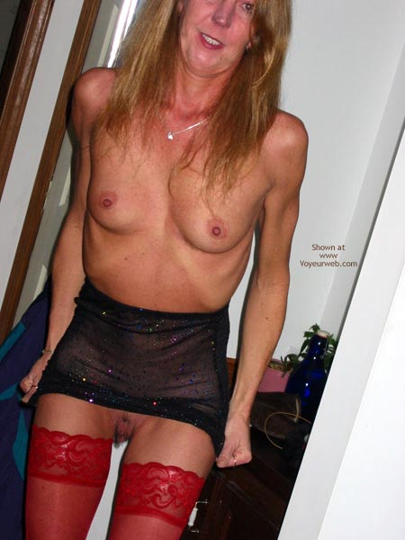 Pic #2 - Sally In Thigh Highs And Fishnets