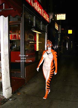 Pic #3 - Tigress Goes Clubbing