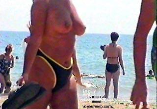 Pic #6 - MrWiggy at the beach 1 + 2