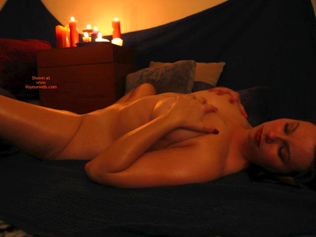 Pic #1 - Candle Scene - Spread Legs , Candle Scene, Spread Legs