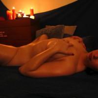 Candle Scene - Spread Legs