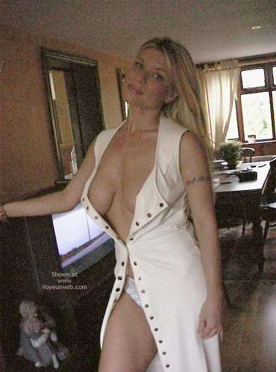 Pic #3 - White Leather Dress