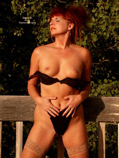 Pic #4 - Red Tonya - Sexy At Sunset