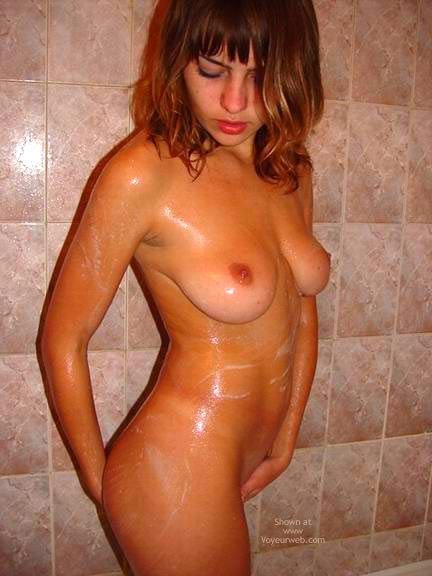 Pic #9 - Washing Pussy And Tits