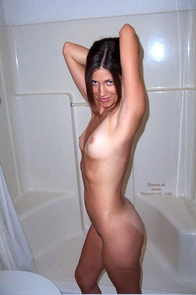Pic #2 - Crazy Tanlines In The Shower- Shannon Part 2