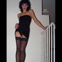 Sexy Wife@33 Black Dress Part 1