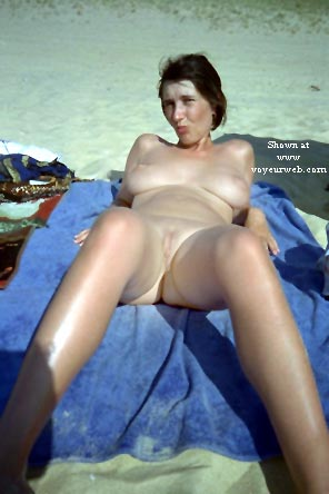 Pic #9 - My wife Eve on the beach