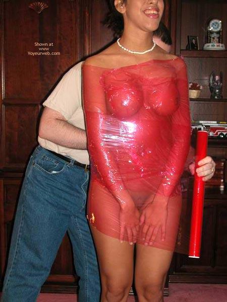 Pic #3 - Plastic Wrapped Latina