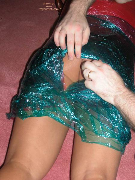 Pic #8 - Plastic Wrapped Latina