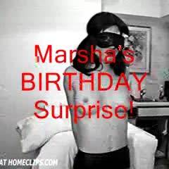 Marsha's Surprize Birthday Party