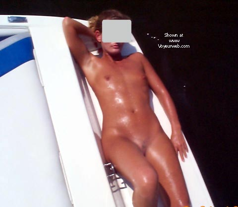 Pic #2 - Becky on the Boat