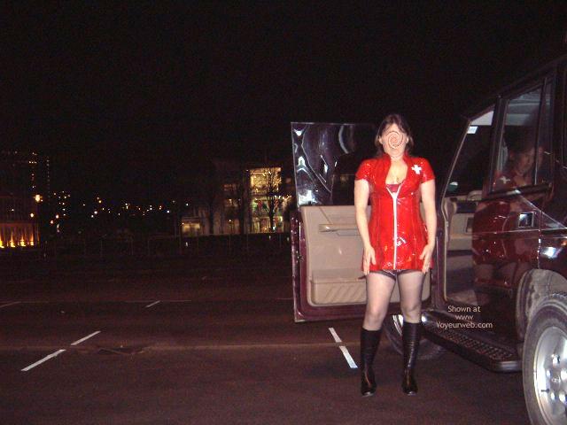Pic #3 - Debs Flashing In Sheffield Uk