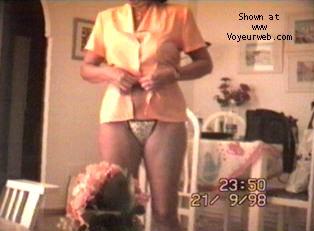 Pic #3 - Portuguese wife strip-tease