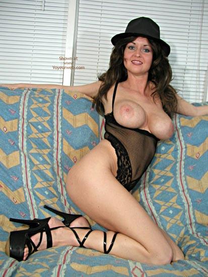 Pic #1 - Nadine In Black Bodysuit