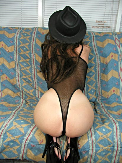 Pic #4 - Nadine In Black Bodysuit