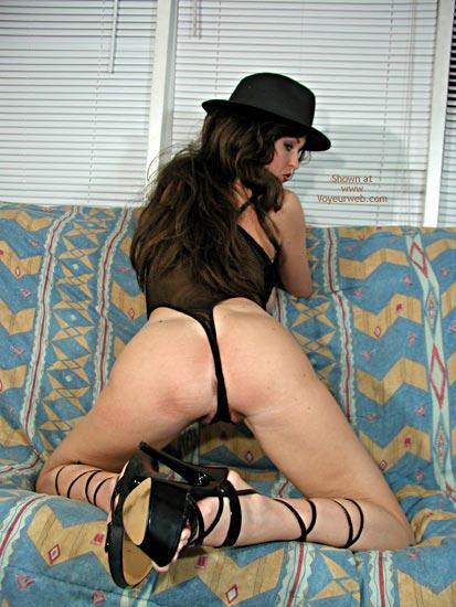 Pic #9 - Nadine In Black Bodysuit