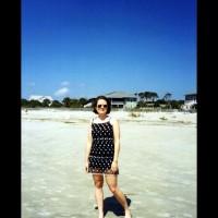 Bi Herself at the Beach