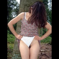 Wife ass...in the forest