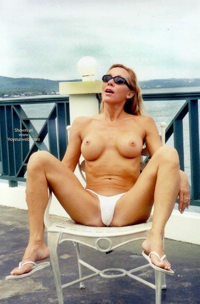 Pic #7 - Kim4kate-Tiny White Bikini