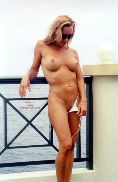 Pic #9 - Kim4kate-Tiny White Bikini