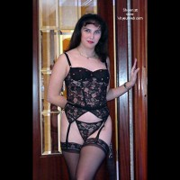 Lara in sexxy garters