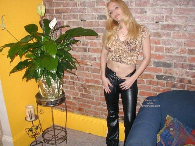 Pic #1 - Olivia'S Tummy, Tits, Leather Pants