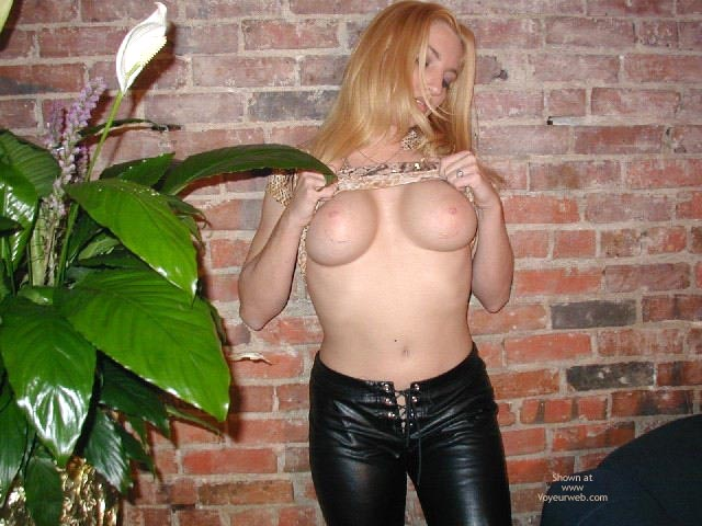 Pic #5 - Olivia'S Tummy, Tits, Leather Pants