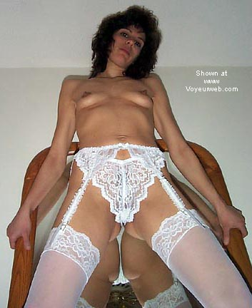 Pic #10 - Sexy Wife@33! White Stockings