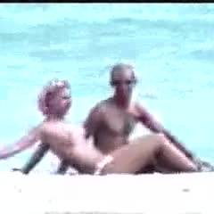 Real Sly Couple On Miami Beach