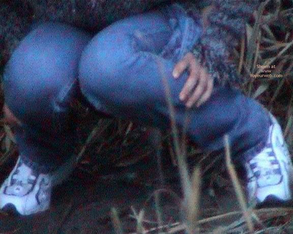 Pic #6 - Voyeur Piss Baby In Park