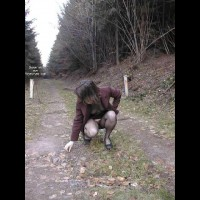 Xeliane in woods 2