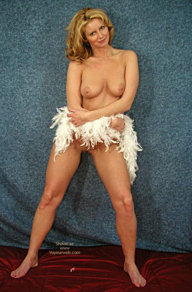 Pic #2 - TANYA WRAPPED IN WHITE FEATHER