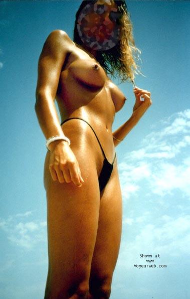 Pic #1 - mi mujer en la playa 5