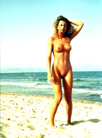 Pic #3 - mi mujer en la playa 5