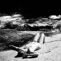 Black And White - Black And White, Full Nude, Beach Voyeur
