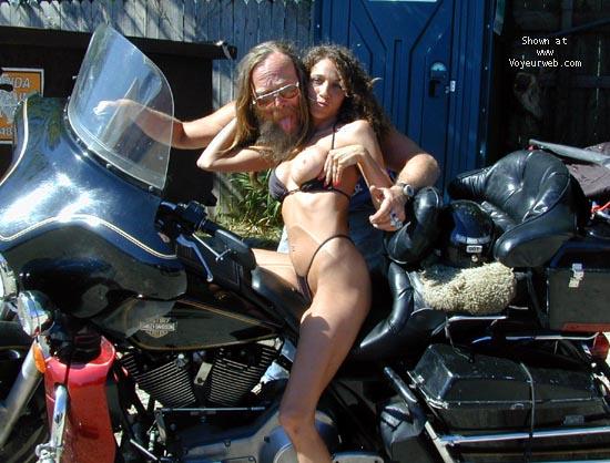 Pic #7 - Homer's Kat at Bike Week 2000 - PART 1