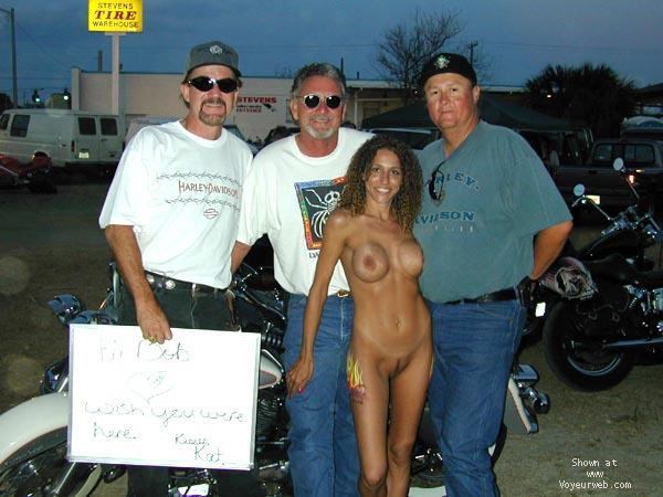 Pic #9 - Homer's Kat at Bike Week 2000 - PART 1
