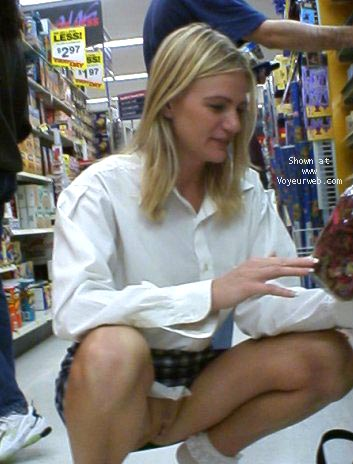 Pic #6 - Hot Blond at Walmart