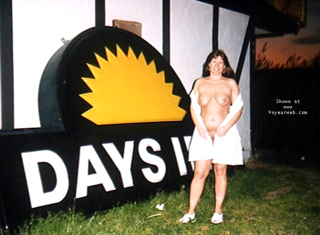 Pic #7 - Purple Patty outside Days Inn
